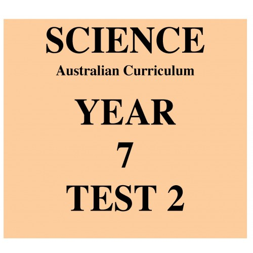 australian curriculum science year 7 test 2. Black Bedroom Furniture Sets. Home Design Ideas