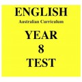 Australian Curriculum English Year 8