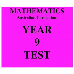 Australian Curriculum Mathematics Year 9