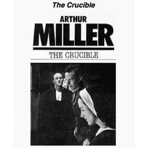 fear and society and its response to fear in the crucible a play by arthur miller The crucible by arthur miller fear, and hysteria the crucible is an allegory of the insidious spread and reach of miller wrote this play as an.