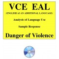 Analysis of Language Use - EAL Sample Response 3