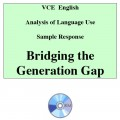 Analysis of Language Use - English Sample Response 5