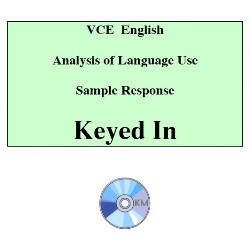 vce language analysis The english exam for vce year 12 the english exam on november 1, 2017 is a 3 hour exam divided into 3 sections covering section a: analytical interpretation of a text, section b: comparative analysis of texts and section c: argument and persuasive language.