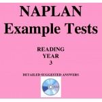 Detailed answers to the ACARA NAPLAN Example Tests - Year 3