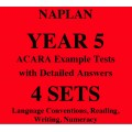 Detailed answers to the ACARA NAPLAN Example Tests - Year 5