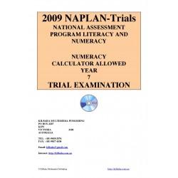 2009 Y7 Numeracy Calculator