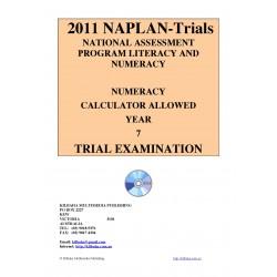 2011 Y7 Numeracy Calculator