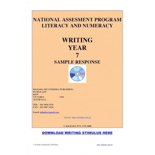 year 7 sample 2008 writing response